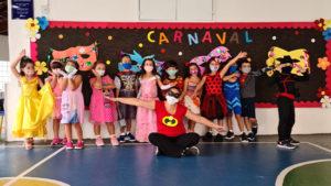 Carnaval no Cermac - hoje foi dia de folia no colégio
